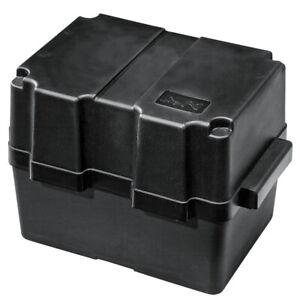 Nuova Rade Black Boat / Outboard Battery Box 280mm x 195mm x 230mm