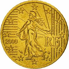 [#462810] Coin, France, 50 Euro Cent, 2000, MS(65-70), Brass, KM:1287