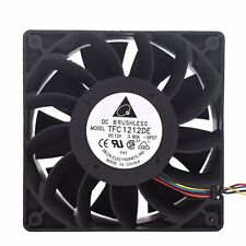 Delta TFC1212DE 120mm 12cm PWM 252CFM 12038 DC 12V cooling fans New