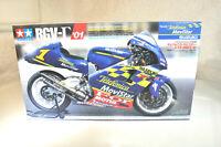 Tamiya Suzuki RGV-R '01 Telefonica MoviStar Motorcycle Model Kit 1/12 scale NIB