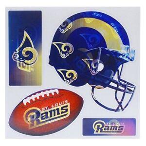 """NFL """"4-Piece"""" 3D Multi-Magnets (St. Louis Rams)"""
