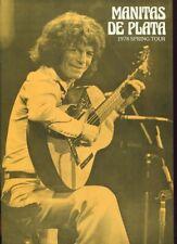 RARE PROGRAMME MANITAS DE PLATA 1978 SPRING TOUR LA CAMARGUE