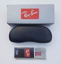 Ray Ban Black Hard Sunglasses Case New