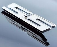 3D Metal SS Side Emblem Badge Decal Sticker For Chevrolet Chevy Corvette Camaro