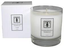 TCC Bergamot Rosemary Sandalwood Scented Candle 60 hour
