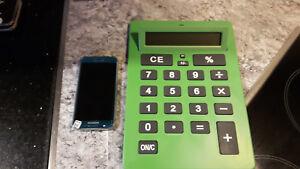 Mega Calculator Taschenrechner DIN A4 Grün Blau Orange Silber Geburtstag Schule