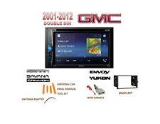 GMC SAVANA SIERRA ENVOY Touchscreen Dvd Bluetooth Radio Stereo Double Din Kit