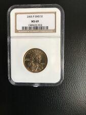 2005-P SMS $1 Sacagawea MS 69 By NGC