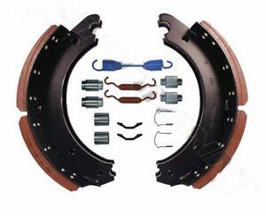 Rockwell Meritor style Q plus Brake shoe and hardware 16 1/2 x 7 inch 23K lining