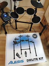 Alesis DM Lite Kit   e-drum   elektronisches Schlagzeug + Rack   TOP Zustand!