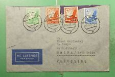 DR WHO 1937 GERMANY BERLIN AIRMAIL TO PALESTINE  g21506