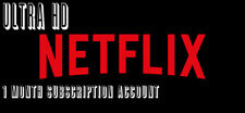 ✅[Super Fast] Netflx Personal UltraHD Premium 1 month With Warranty✅