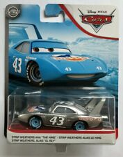 Disney Pixar Cars THE KING  SILVER COLLECTION Mega Rare Over 100 Cars Listed !!