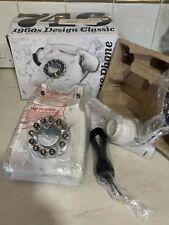746 Grey Marble Vintage Style Retro Telephone GPO DESIGN CLASSIC 1960's