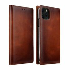 Leather Cell Phone Case Solid Smooth Soft Mobile Card Holder Cover Accessories
