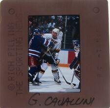 Gino Cavallini ST LOUIS BLUES Calgary Flames Quebec Nordiques ORIGINAL SLIDE 4