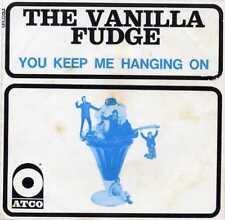 "VANILLA FUDGE ""YOU KEEP ME HANGING ON"" FR 1968 W/PS"