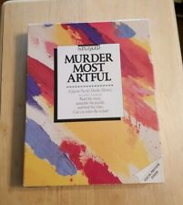 Be puzzled Murder Most Artful Jigsaw Puzzle Murder Mystery R.D. Zimmerman Fun