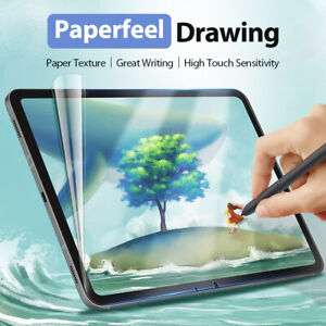 """Paperfeel Screen Protector For Apple ipad 8 7 10.2"""" 9.7inch Frosted Protective"""