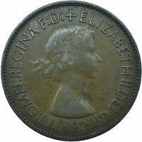 1953 ONE PENNY OF ELIZABETH II. /One Penny Bronze    #WT20509