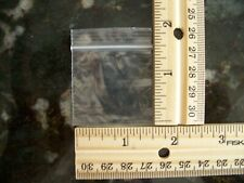 100 1.5 x 1.5 ZIPLOCK BAGS 2MIL Clear Small POLY BAG RECLOSABLE Plastic Bags