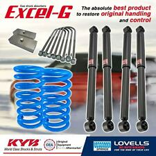 KYB Super Low Front Rear Shock Coil Spring Block for HOLDEN EJ EH HD Sedan 63-65