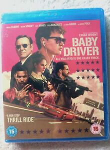 73162 Blu-ray - Baby Driver [NEW / SEALED]  2019