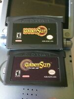 Golden Sun The Lost Age Series GBA Video Game Card 32 Bit Cartridge For Nintendo