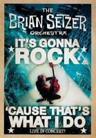 THE BRIAN SETZER ORCHESTRA - IT'S GONNA ROCK...'CAUSE THATS WHAT I DO NEW DVD