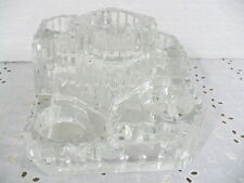 Germany Crystal Votive candle holder w/ (5) Candle Holders in pillar design