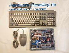 Original SGI Silicon Graphics Keyboard Granit US QWERTY Mouse & Mousepad