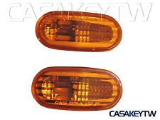 AMBER SIDE MARKER LIGHTS FOR 1992-2000 MITSUBISHI JDM LANCER EVO SL921 U