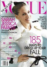 Vogue Magazine Sarah Jessica Parker The Age Issue Jane Lynch Fanning Sisters