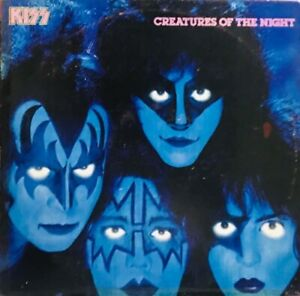 KISS - CREATURES OF THE NIGHT LP PHILIPPINES RARE