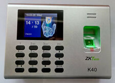 ZKteco K40 Fingerprint Time Clock With Access Control Terminal