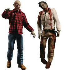 Dawn of the Dead Flyboy & Plaid Shirt Zombie Action Figure Boxed Set 2-Pack