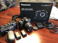 Panasonic LUMIX DMC-GH4-YAGH Camera/Interface Unit + 12-35mm IS Lens - Mint cond