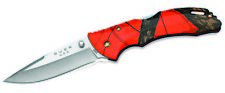 Buck Knives 285 Bantam Blw Mossy Oak Orange Blaze Folding Knife 285CMS9