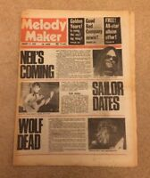 MELODY MAKER JANUARY 17 1976 NEIL YOUNG BERT JANSCH BOWIE GALLAGHER BAD COMPANY