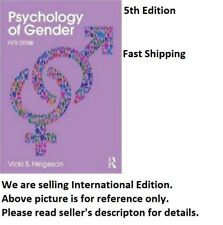 (LAST COPY)Psychology of Gender : Fifth Edition by Vicki S. Helgeson 5th edition