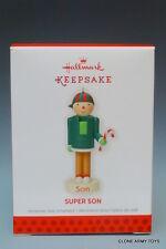 SUPER SON NEW 2013 HALLMARK KEEPSAKE CHRISTMAS ORNAMENT