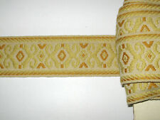 14 METRES DE GALON ANCIEN PASSEMENTERIE DE LYON-VINTAGE FRENCH TRIM-N°OCT49