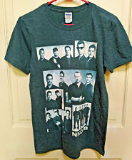 New Kids On The Block The Main Event T Shirt-Gray-New-Size Small