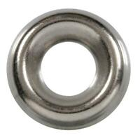 100 Qty #8 Stainless Steel Countersunk Finish Washers | 304 SS Finishing Cup (BC