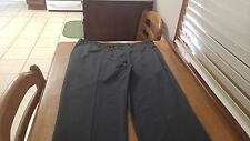 Claiborne Flat Front Mens Dress Pants Gray 38/30 FREE SHIPPING