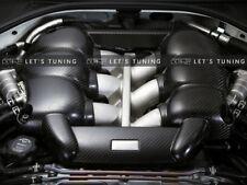 R35 Carbon Fiber Engine Cover For Nissan GTR CBA DBA 2008-2015 Mines Style