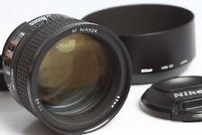 Nikon AF Nikkor 1,4/85 D , nahezu Neuzustand