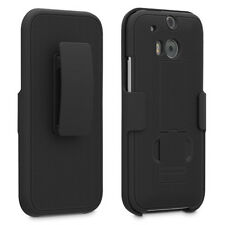 NEW T-Mobile protective cover + holster combo HTC One M8 + Free Screen Protector