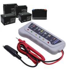 Quality 12V 6 LED Display Battery Tester Car Battery Alternator Monitor Device