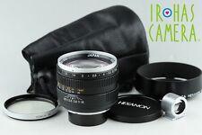 Konica Hexanon 60mm F/1.2 Lens for Leica L39 LTM Mount #11650F4